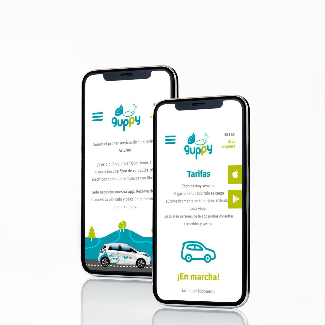Guppy Carsharing logo